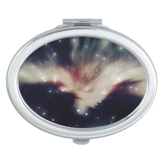 銀河系の宇宙の楕円形の密集した鏡