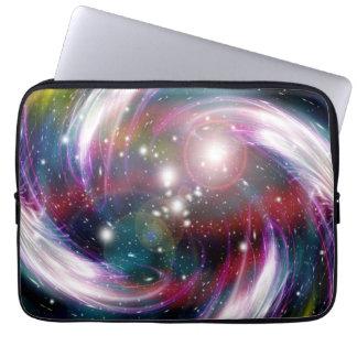 銀河系の抽象美術6 ラップトップスリーブ