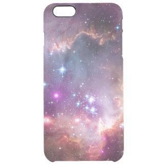 銀河系の星の星雲の宇宙のヒップスターの星の写真 クリア iPhone 6 PLUSケース