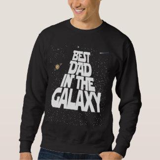銀河系の最も最高のなパパ スウェットシャツ