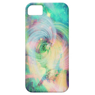 銀河系の渦巻のプリント iPhone SE/5/5s ケース