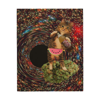 銀河系の穴のkatz ウッドウォールアート