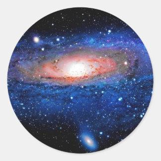 銀河系の芸術 ラウンドシール