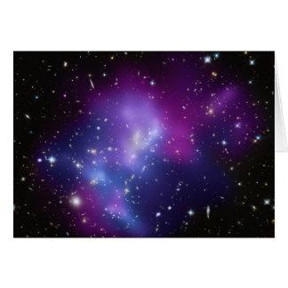 銀河系の集りのレインコートJ0717 カード
