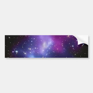 銀河系の集りのレインコートJ0717 バンパーステッカー