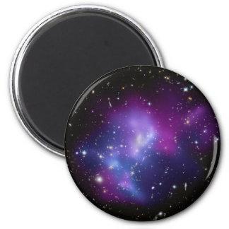 銀河系の集りのレインコートJ0717 マグネット