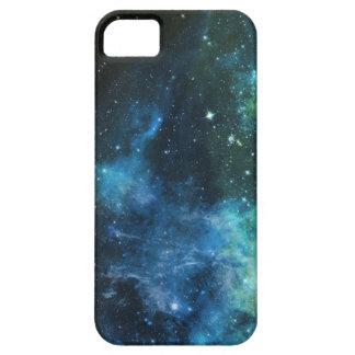 銀河系は星雲のiPhoneの青緑5/5Sの場合を主演します iPhone SE/5/5s ケース
