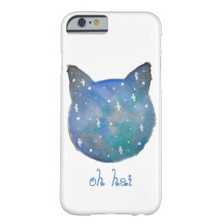 銀河系猫の電話箱 BARELY THERE iPhone 6 ケース