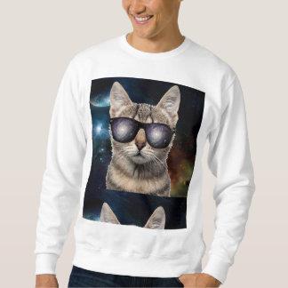 銀河系猫 スウェットシャツ