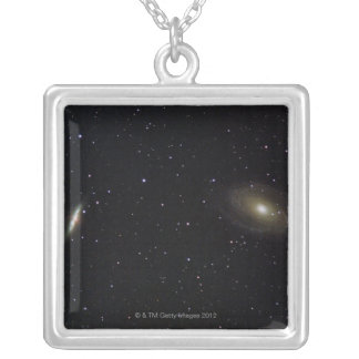 銀河系7 シルバープレートネックレス
