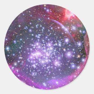 銀河系、射手座の最も重い星 ラウンドシール