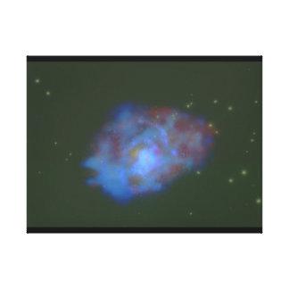 銀河系。 (銀河系; 宇宙; 星; cloud_Space場面 キャンバスプリント