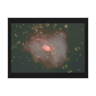 銀河系。 (銀河系; 宇宙; 星; co_Space場面 キャンバスプリント