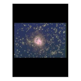 銀河系。 (銀河系; 宇宙; 星; nebula_Space場面 ポストカード