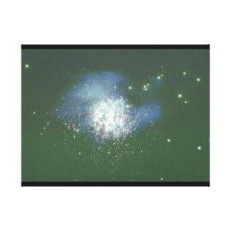 銀河系。 (銀河系; 宇宙; 星; _Space場面 キャンバスプリント