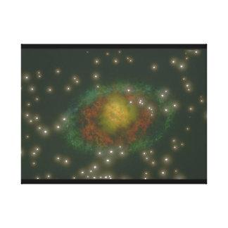 銀河系。 (銀河系; 宇宙; stars_Space場面 キャンバスプリント