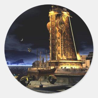 銀河都市- Starcity ラウンドシール