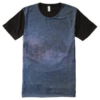 銀河 オールオーバープリントT シャツ