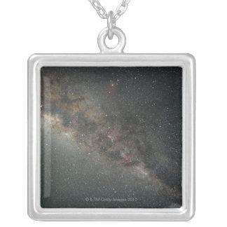 銀河 シルバープレートネックレス