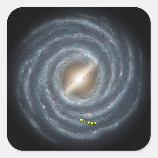 銀河NASAの日曜日 スクエアシール