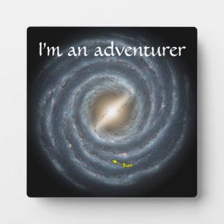 銀河NASAの日曜日 フォトプラーク