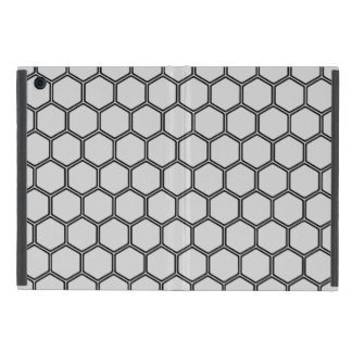 銀色の六角形3 iPad MINI ケース