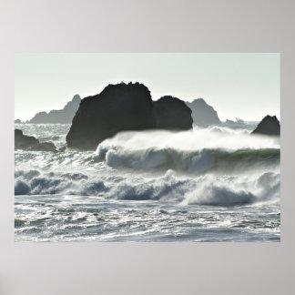 銀色の海 ポスター