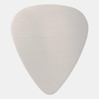 銀色の金属 ギター つめ