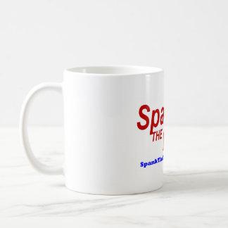 銀行マグを平手で打って下さい コーヒーマグカップ