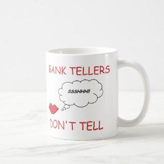銀行出納係は告げません コーヒーマグカップ