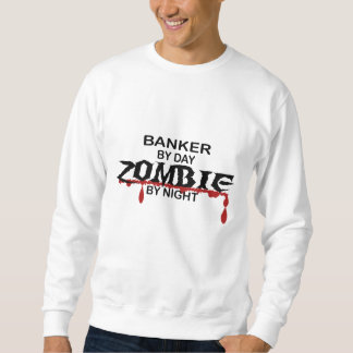 銀行家のゾンビ スウェットシャツ