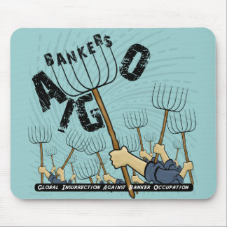銀行家の職業に対する全体的な反乱 マウスパッド