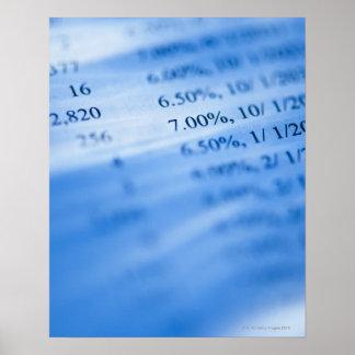 銀行業の図表 ポスター