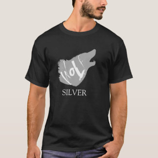 銀製のオオカミ Tシャツ