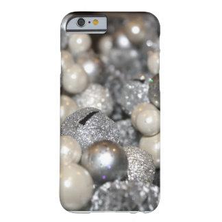 銀製のグリッターの輝きのiPhone6ケース Barely There iPhone 6 ケース