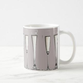 銀製のシャンペンガラス コーヒーマグカップ
