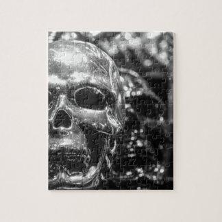 銀製のスカル ジグソーパズル