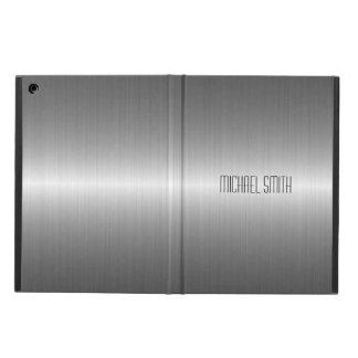 銀製のステンレス鋼の金属 iPad AIRケース
