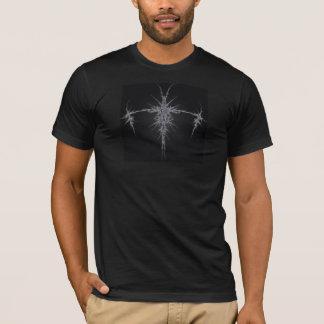 銀製のスパイク Tシャツ