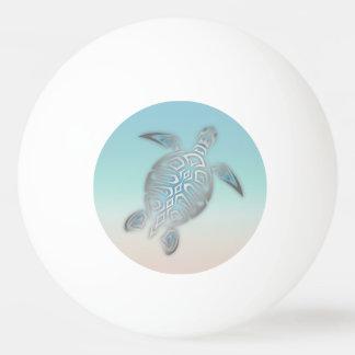銀製のターコイズのウミガメのビーチのスタイル 卓球ボール
