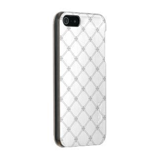 銀製のダイヤモンドパターン メタリックiPhone SE/5/5sケース