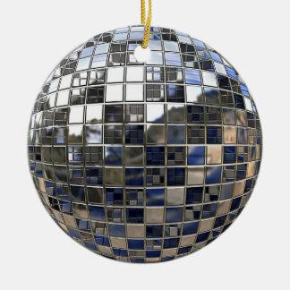 銀製のディスコの球の鏡のオーナメント セラミックオーナメント