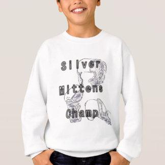 銀製のミトンのチャンピオン スウェットシャツ