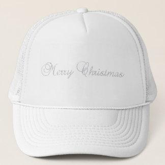 銀製のメリークリスマスの帽子 キャップ