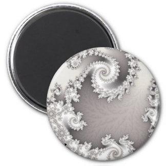 銀製の二重螺線形の磁石 マグネット