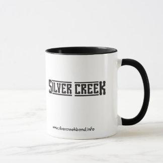 銀製の入り江のロゴのマグ マグカップ