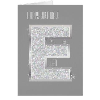 銀製の手紙E カード