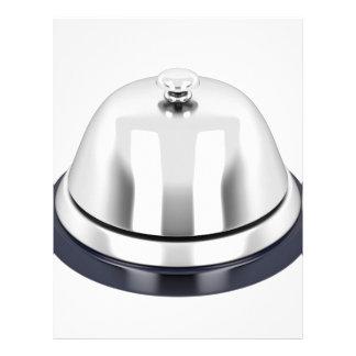 銀製の披露宴の鐘 レターヘッド