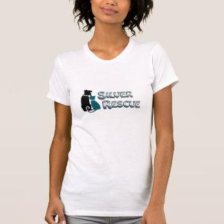 銀製の救助のTシャツ Tシャツ