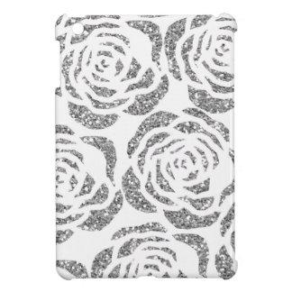 銀製の模造のなグリッターのバラのカスタムのiPad Miniケース iPad Mini カバー